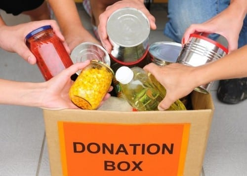 Ways To Help Poor And Needy - Donating Eatables