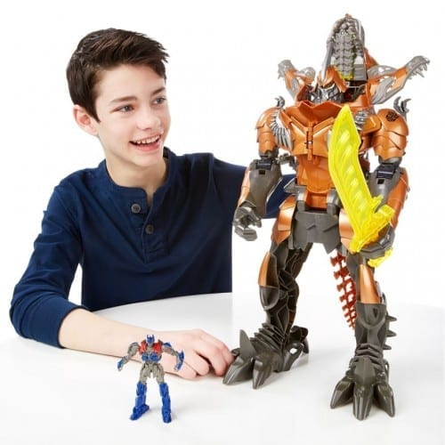 10 Best Christmas Gifts For Kids 2014 - Transformer Chomp Grimlock