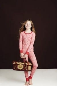 Bedhead Stretch Tween Pajamas In Pink Eiffel Tower