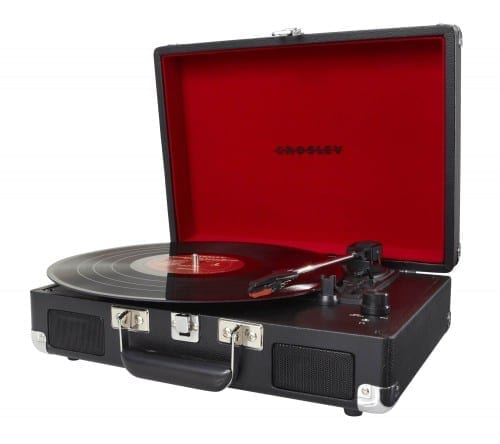 Most Affordable Christmas Gifts 2018 - Cruiser Portable Turntable