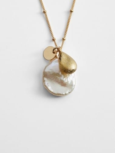 Most Affordable Christmas Gifts 2014 - Mabel Chong Keshi Pearl Necklace