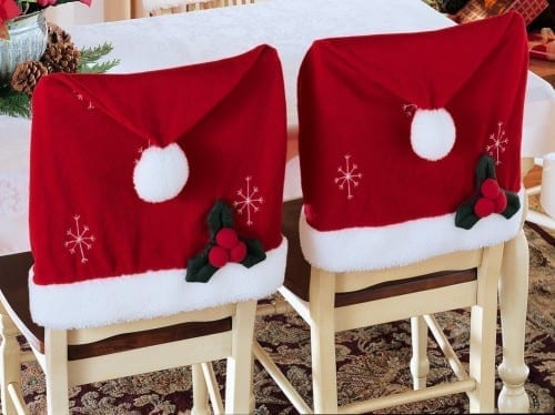 Most Unique Christmas Decor Items - Decorate Chairs