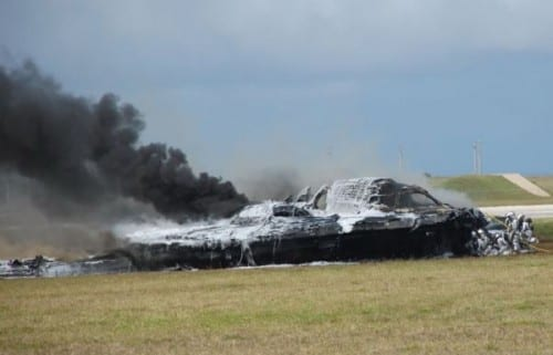 B-2 Stealth Heavy Bomber Crash, 2008