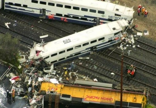Chatsworth Train Collision, 2008