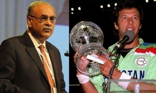 Najam Sethi passes satirical comment on Imran Khan