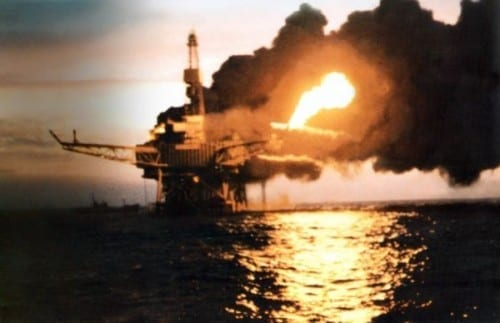 Piper Alpha Oil Rig, 1988