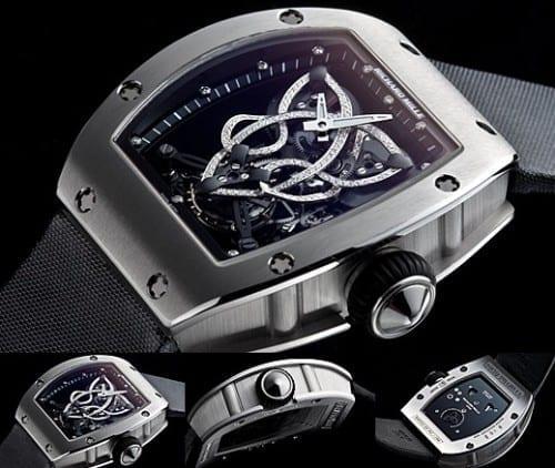 Richard Mille Caliber RM 019 Celtic Knot Tourbillon Watch