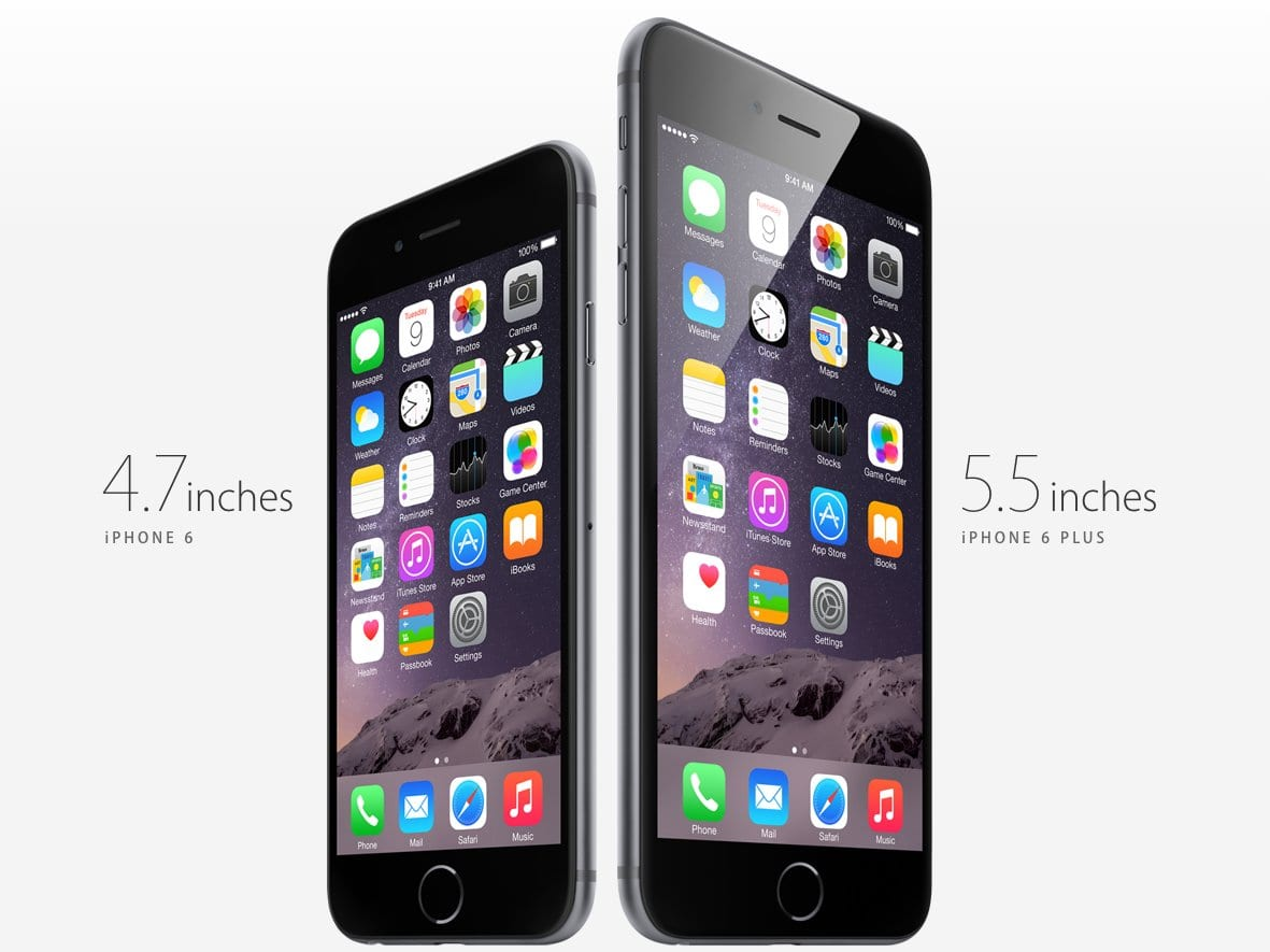 10 differences between iphone 6 and iphone 6 plus. Black Bedroom Furniture Sets. Home Design Ideas