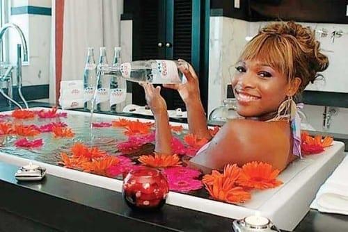 Evian Bath - Cost $5000