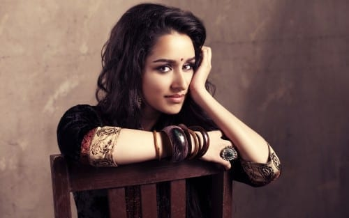 Most Beautiful Bollywood Actresses in 2018 - Shraddha Kapoor