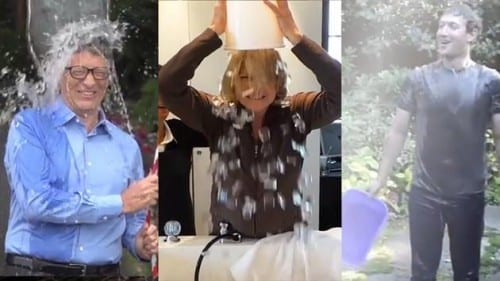Top 10 Best ALS Ice Bucket Challenges