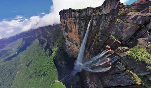 Top 10 Highest Waterfalls - Angel Falls, Venezuela