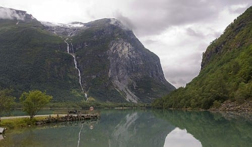 Top 10 Highest Waterfalls - Utigord waterfall, Norway