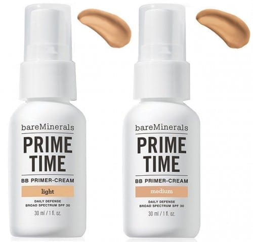 Best Cosmetics For Acne Prone Skin - Bare Minerals Prime Time