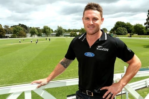 Hottest Cricketers In World Cup 2020 - Brendon Mccullum