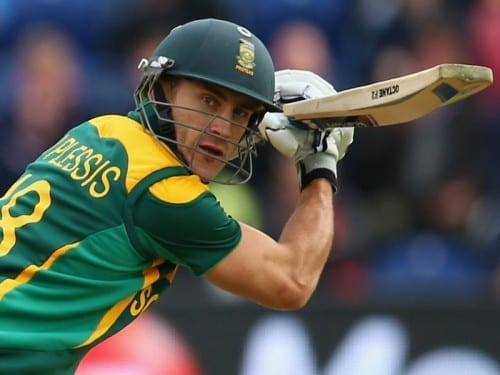 Hottest Cricketers In World Cup 2020 - Faf du Plessis