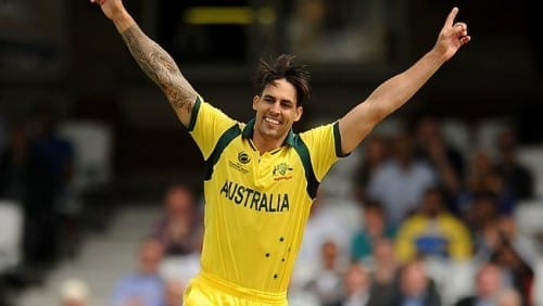 Hottest Cricketers In World Cup 2015 - Mitchell Johnson