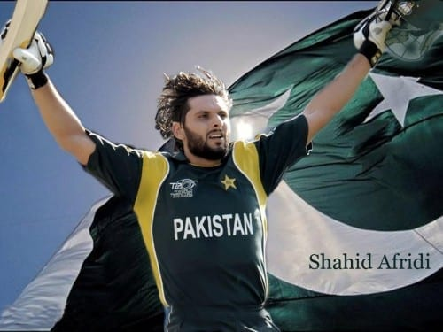 Hottest Cricketers In World Cup 2015 - Shahid Afridi