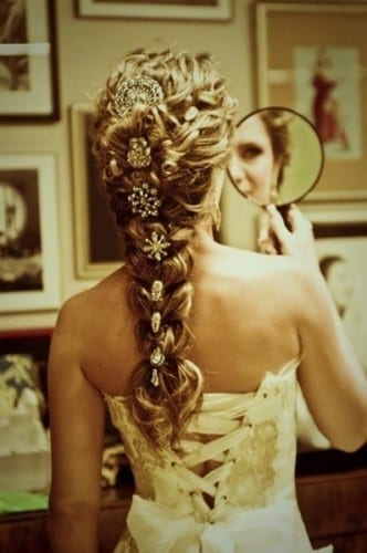 Best Bridal Hair Styles In 2019 - Simple Embellished Braid