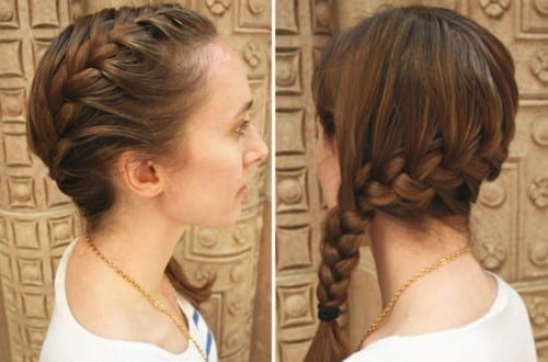 Best Bridal Hair Styles In 2019 - The French Side Braid