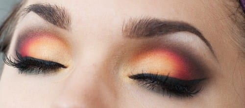 Best Makeup Trends For 2018 - Sunset Eyes