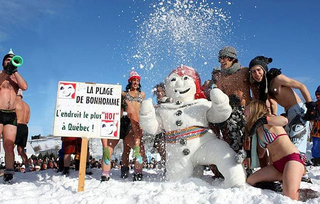 Quebec Winter Carnival 2015