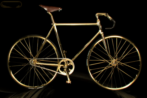 Aurumania Crystal Edition Gold Bike - $ 114,400