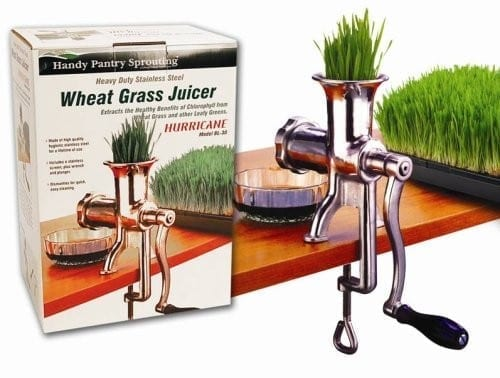 Hurricane Manual WheatGrass Juicer review