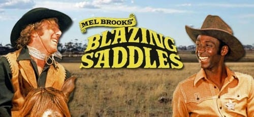 Top 10 Funniest Movies - Blazing Saddles