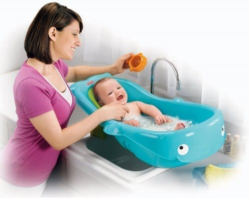 Best Baby Bath Tubs In 2020 - Fisher- Price Planet Whale Tub