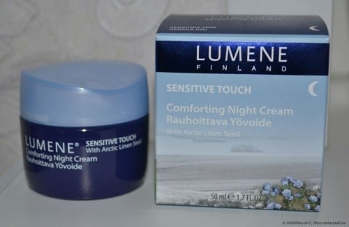 Best Skin Care Products 2015 - Lumene Sensitive Touch Comforting Night Cream