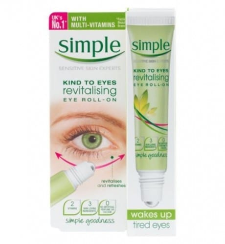 Best Skin Care Products 2020 - Simple Revitalizing Eye Roll on