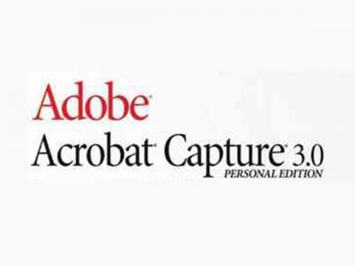 Most Expensive Software In 2018 -  Adobe Acrobat Capture