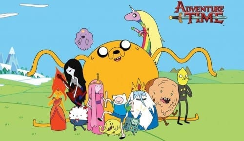 Most Popular Best Cartoons 2015 - Adventure Time