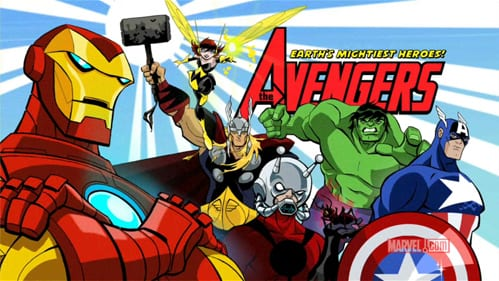 Most Popular Best Cartoons 2015 - Avengers