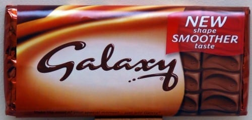 Most Popular Chocolate Brands 2020 - Galaxy