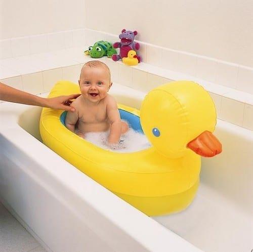 Munchkin Inflatable White Hot Duck Tub