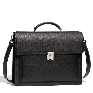 Salvatore Ferragamo Revival Calfskin Briefcase