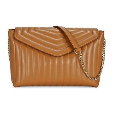 Salvatore Ferragamo Sienne Rosy Leather Shoulder Bag