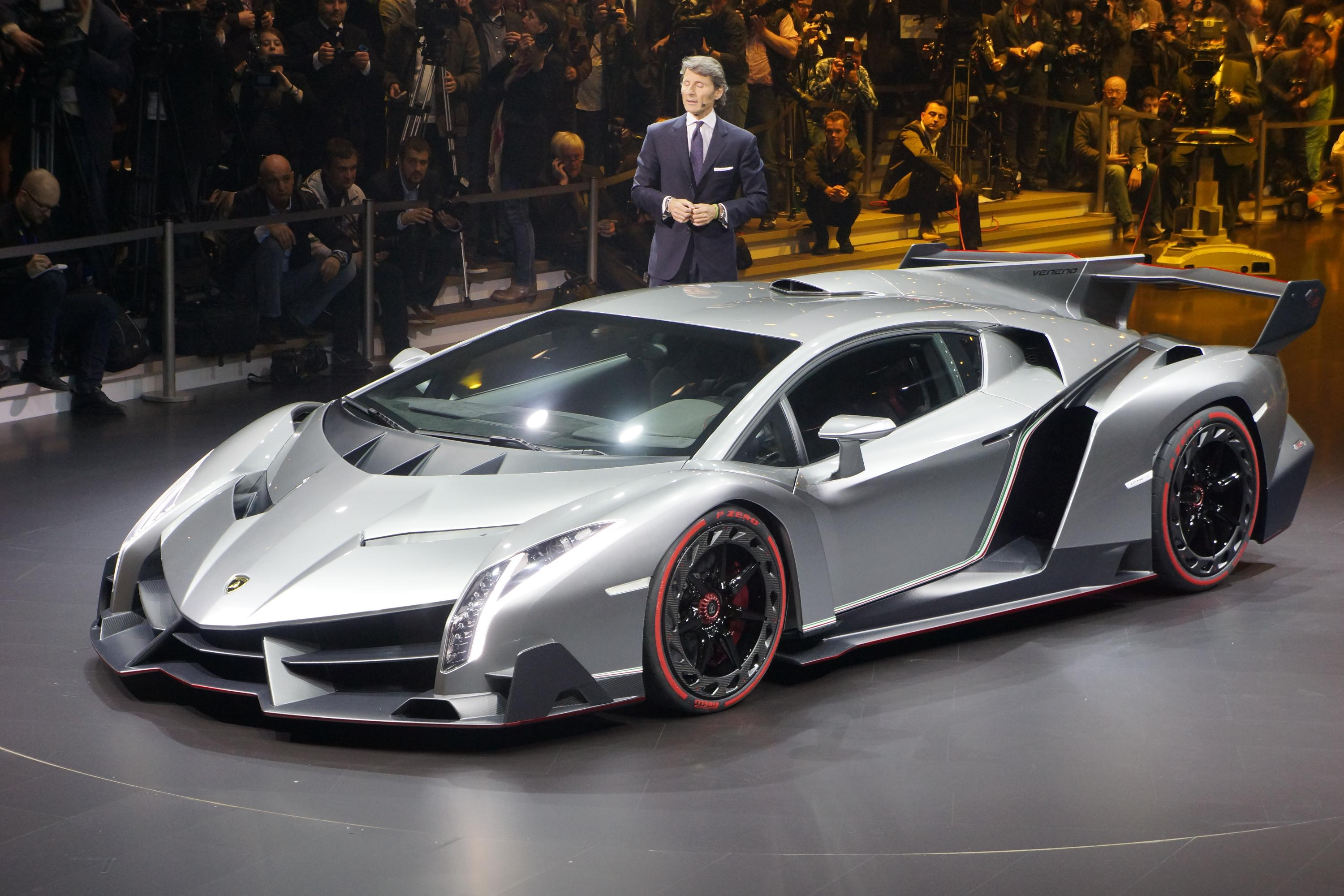 Worlds Most Expensive Cars 2015 - Lamborghini Veneno