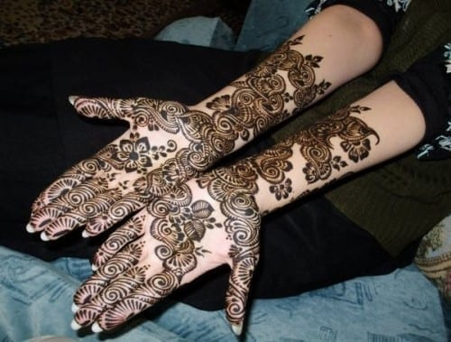 10 Most Beautiful Mehndi designs