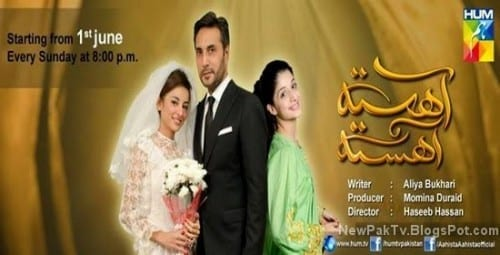 Most Popular Pakistani Drama Serials - Ahista Ahista