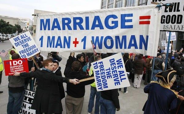 reasons against same sex marriage in Riverside