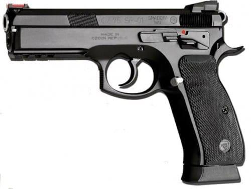 Top 10 Best 9mm Pistols In 2020 - CZ 75 SP-01