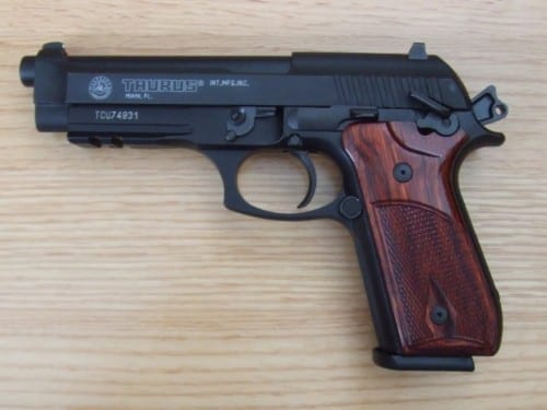 Top 10 Best 9mm Pistols In 2015 - Taurus PT 92