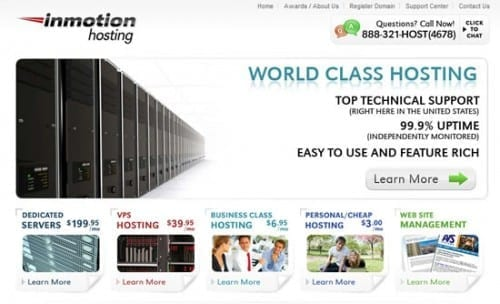 Best Web Hosting Companies in 2020 - Inmotion
