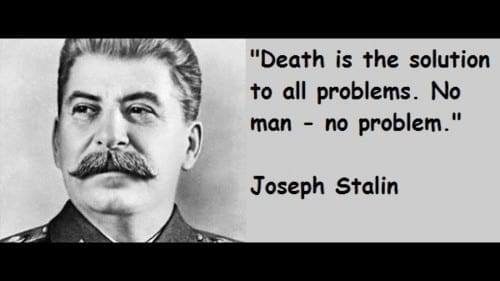 Most Cruel People Ever In History -Joseph Stalin