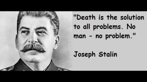 Most Cruel People Ever In History -Joseph Stalin