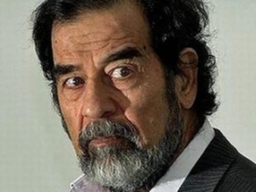 Most Cruel People Ever In History - Saddam Hussain