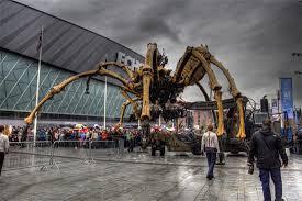 La Machine Spider Robots